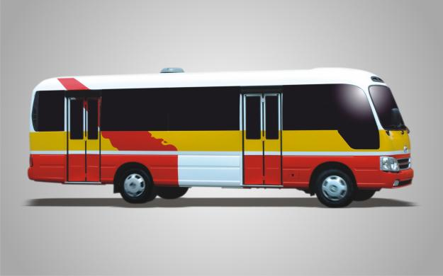 HMT - BUS B40 NGÔ GIA TỰ, HUYNDAI (thân dài)