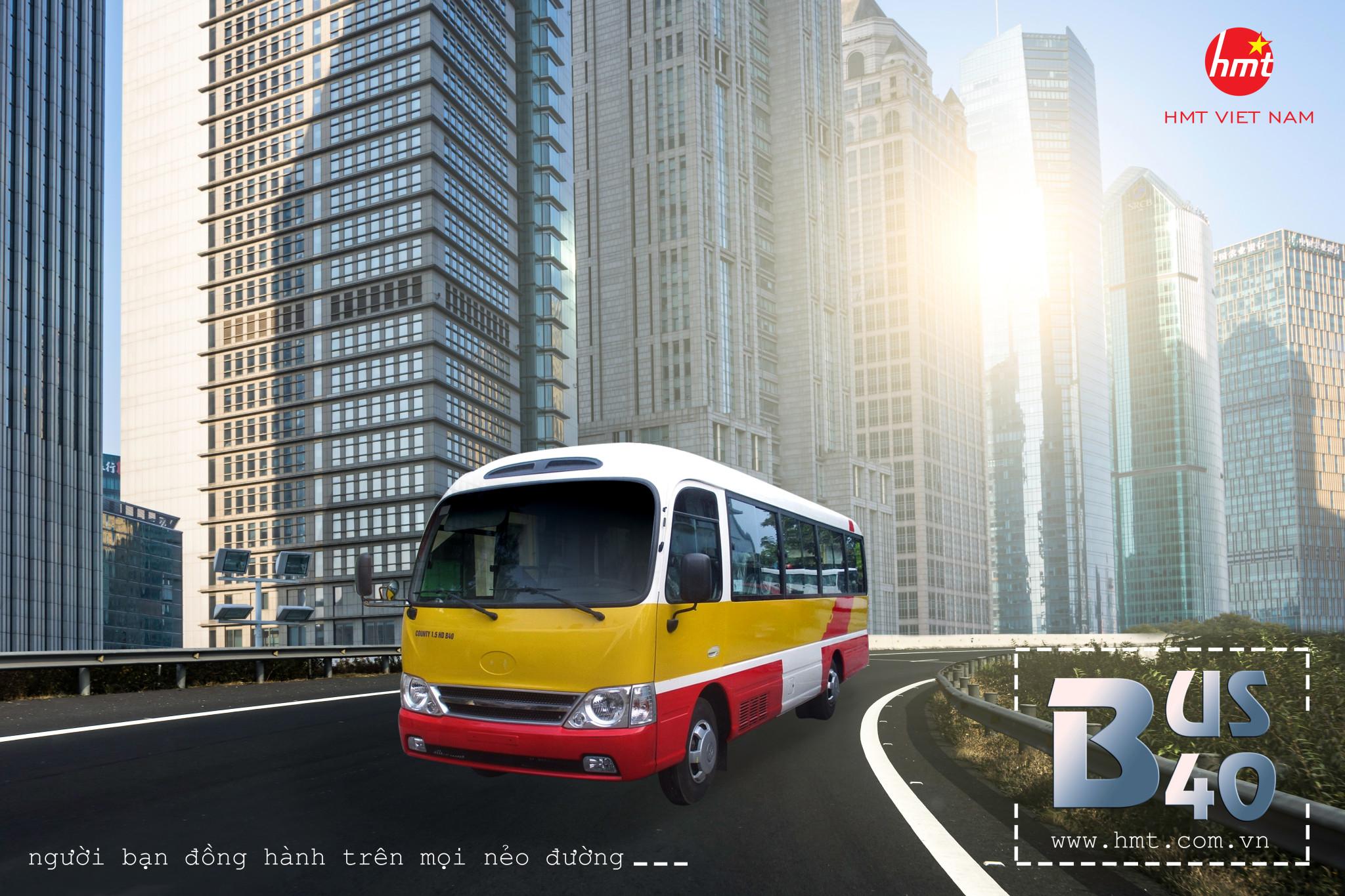 HMT- Xe Bus B40 1-5