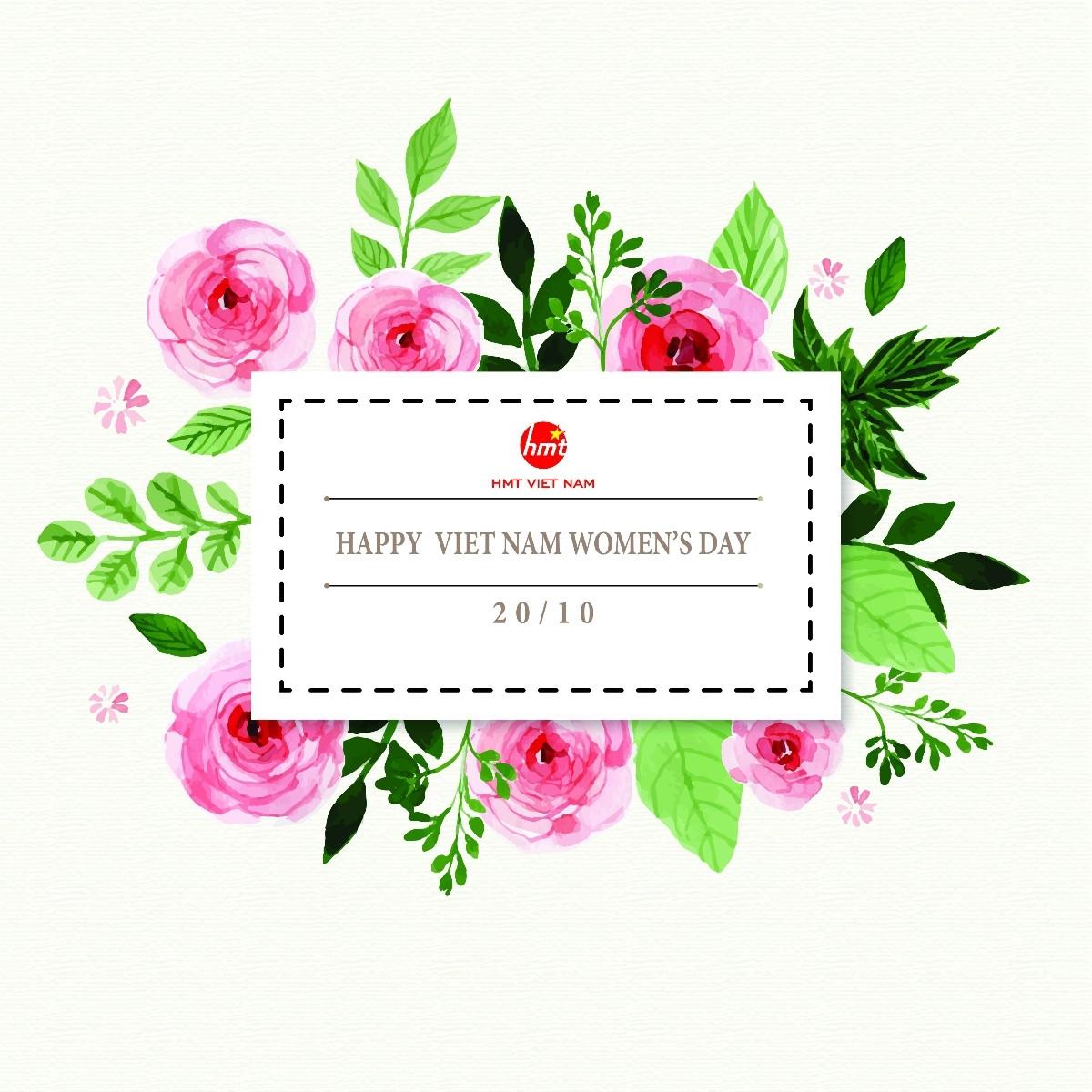 Chào mừng ngày Phụ Nữ Việt Nam 20-10