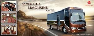 HMT Samco Limousine - Siêu phẩm đầu tiên về tới Hà Nội
