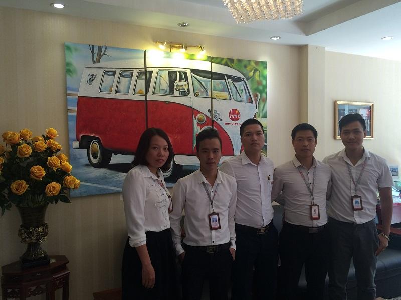 HMT Việt Nam khen thưởng ban Samco tháng 7-2016