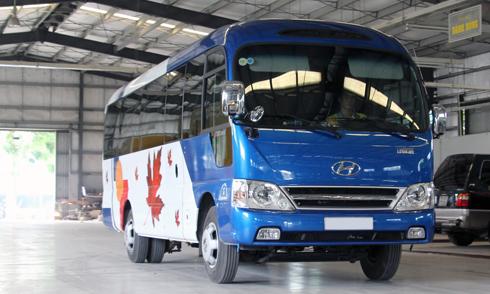 Hyundai County 12 chỗ độc nhất Việt Nam