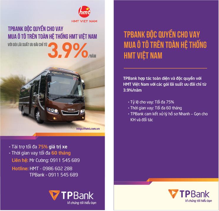 TPBANK chọn HMT VIỆT NAM là đối tác tin cậy để liên kết hợp tác toàn diện